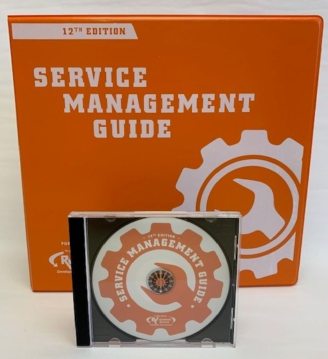05MF - Service Mgmt Guide 12th Edition Manual + CD