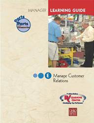 04PG - Manage Customer Relations - Sect E