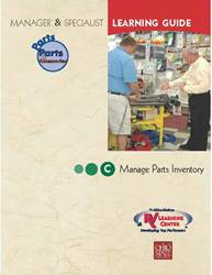 04PE - Manage Parts Inventory - Sect C