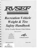 00DI - Recreation Vehicle Weight & Tire Safety Handbook