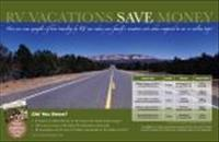 02VP - RV Vacation Cost Comparison Poster - Set of 10