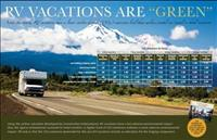 002RG - RV Vacations are 'Green' Poster' - Set of 10